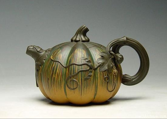 茶壶简笔画 彩色